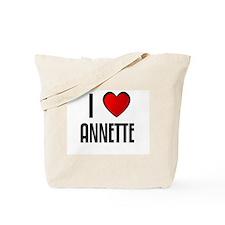 I LOVE ANNETTE Tote Bag
