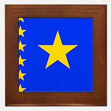 Congolese Framed Tile