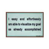 Quotes affirmations magnets Single