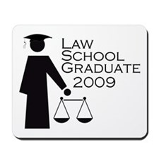 Law School Graduate 2009 Mousepad