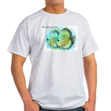 Blue Discus Fish T-Shirt