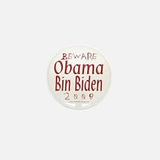 Obama Bin Biden Mini Button (10 pack)