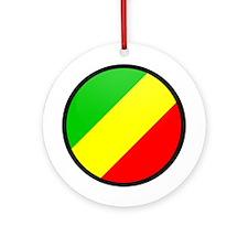 CONGO BRAZZAVILLE Ornament (Round)