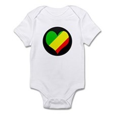I love CONGO BRAZZAVILLE Fla Infant Bodysuit