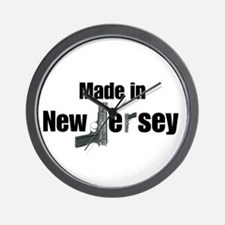 Made in New Jersey Wall Clock
