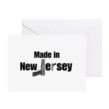 Made in New Jersey Greeting Card