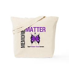 MemoriesMatter Alzheimer's Tote Bag
