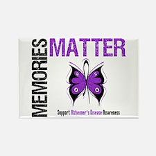 MemoriesMatter Alzheimer's Rectangle Magnet