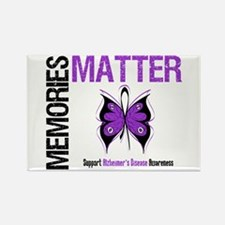 MemoriesMatter Alzheimer's Rectangle Magnet (10 pa