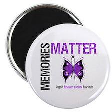 """MemoriesMatter Alzheimer's 2.25"""" Magnet (10 pack)"""