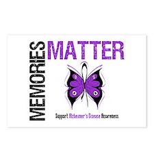 MemoriesMatter Alzheimer's Postcards (Package of 8