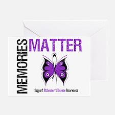 MemoriesMatter Alzheimer's Greeting Cards (Pk of 1