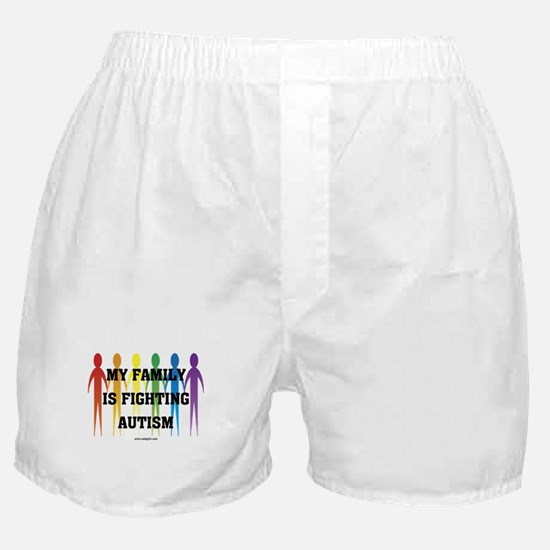 Fighting Autism Boxer Shorts