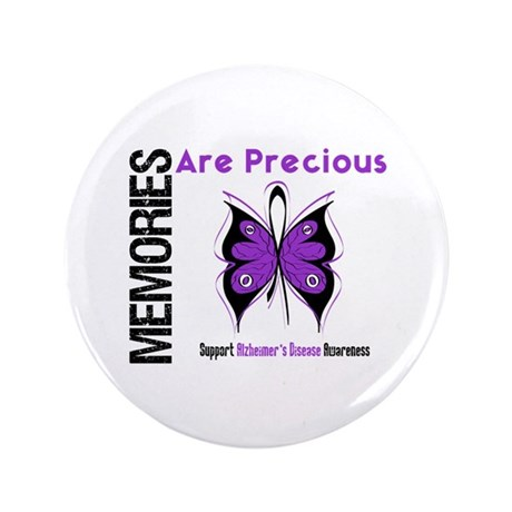 "Memories Are Precious 3.5"" Button (100 pack)"