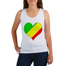 I Love CONGO BRAZZAVILLE Women's Tank Top