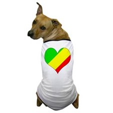 I Love CONGO BRAZZAVILLE Dog T-Shirt