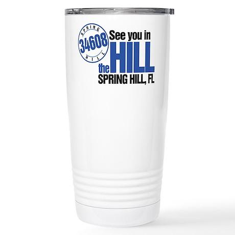 Spring Hill, FL Stainless Steel Travel Mug