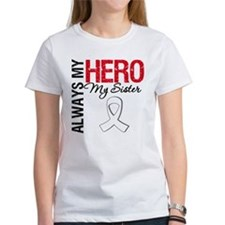 Lung Cancer Hero Sister Tee
