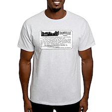 03/28/1909: Danville, VA T-Shirt