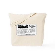 03/28/1909: Danville, VA Tote Bag