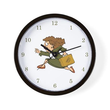 Briefcase Dash Wall Clock