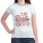 Pretty Pink 09 Bride Jr. Ringer T-Shirt