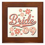 Pretty Pink 09 Bride Framed Tile