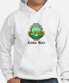 Costa Rican Coat of Arms Seal Jumper Hoody