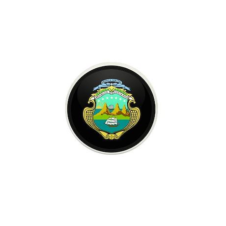 Coat of Arms of Costa Rica Mini Button