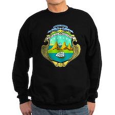 Costa Rica Coat of Arms Jumper Sweater