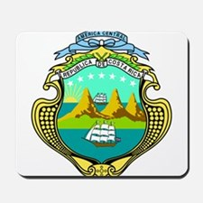 Costa Rica Coat of Arms Mousepad