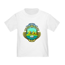 Costa Rica Coat of Arms T