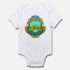 Costa Rica Coat of Arms Infant Bodysuit
