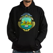 Costa Rica Coat of Arms Hoody