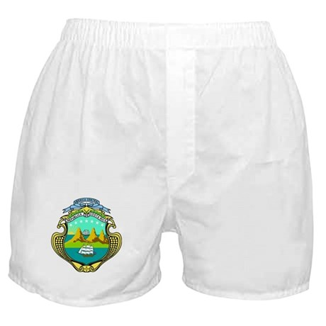 Costa Rica Coat of Arms Boxer Shorts
