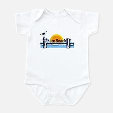 Kure Beach Pier Infant Bodysuit