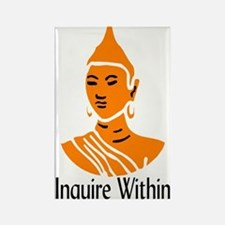 """""""Inquire Within"""" Rectangle Magnet"""