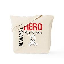 LungCancerHeroMother Tote Bag