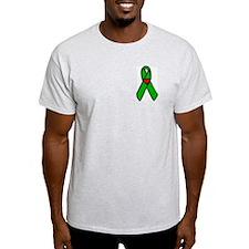 I'm a heart transplant survivor... Ash Grey T-Shir