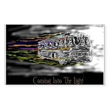 'Coming Into The Light' Rectangle Decal