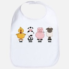 Animals Bib