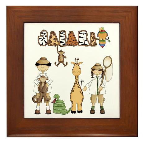 Safari Framed Tile