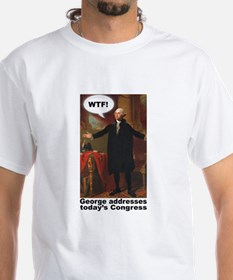 George Washington WTF(with caption) Shirt