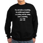 Oscar Wilde 3 Sweatshirt (dark)