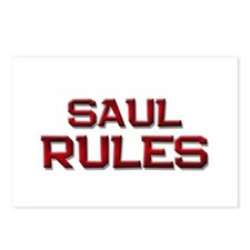 saul rules Postcards (Package of 8)