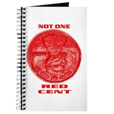 NOT ONE RED CENT Journal