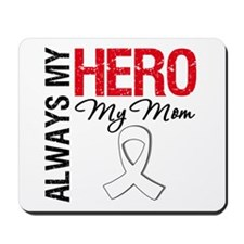 Lung Cancer Hero Mom Mousepad