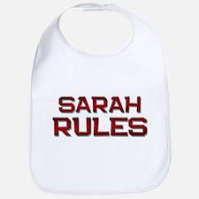 sarah rules Bib