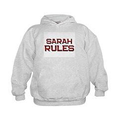 sarah rules Hoodie