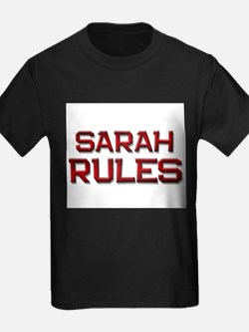 sarah rules T